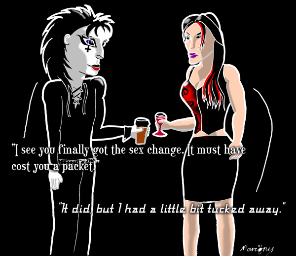 Goth Moves - Sex Change