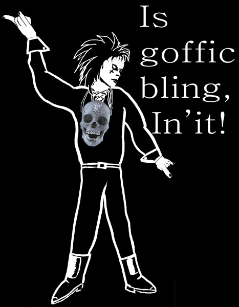 Art, goth or bling?