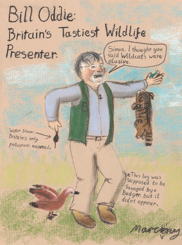 Bill Oddie: Britain's Tastiest Wildlife Presenter
